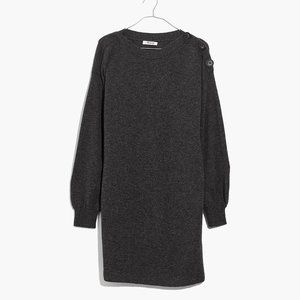 Madewell Grey Sweater Dress - Size XS